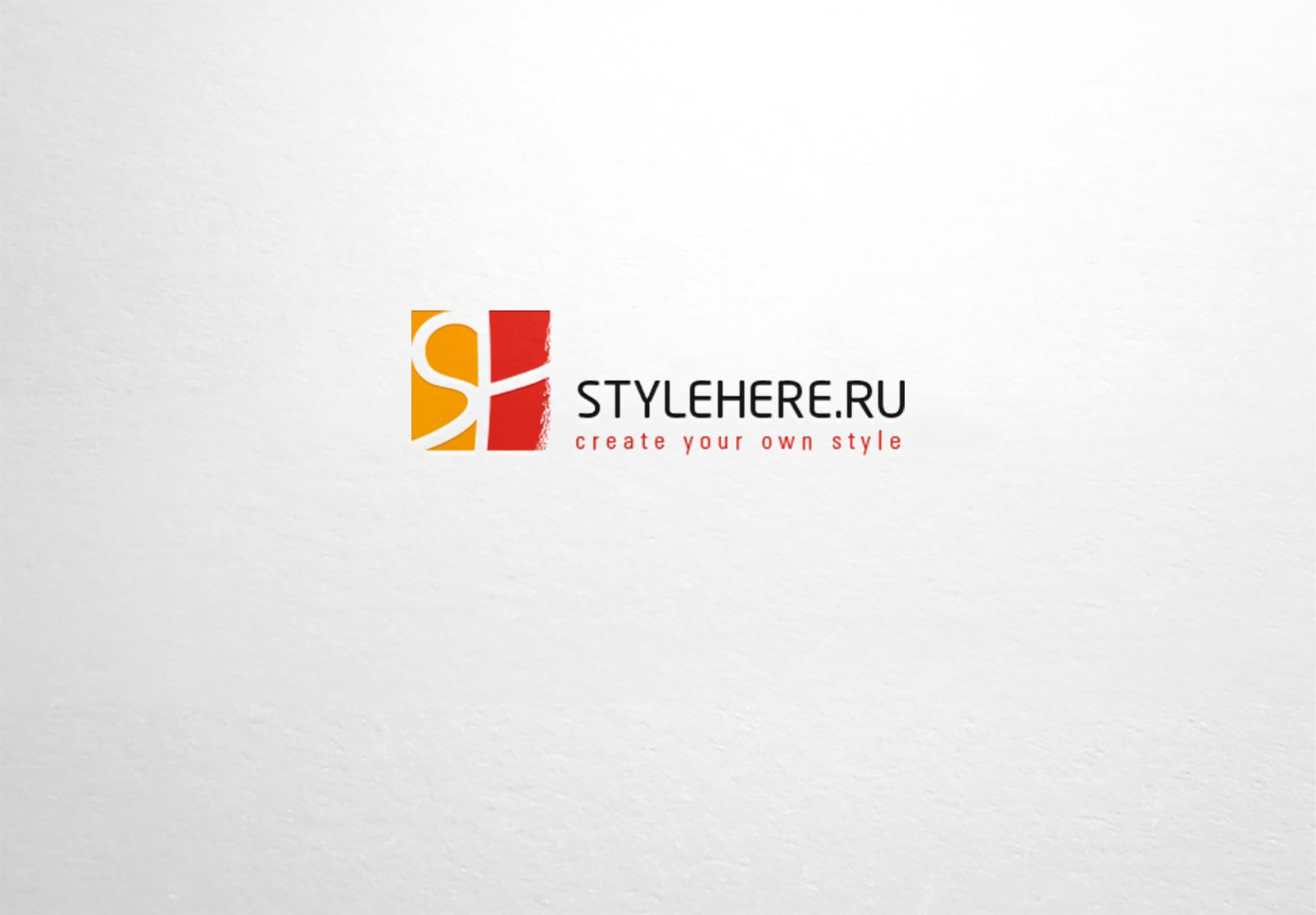 Логотип для интернет-магазина stylehere.ru - дизайнер dron55