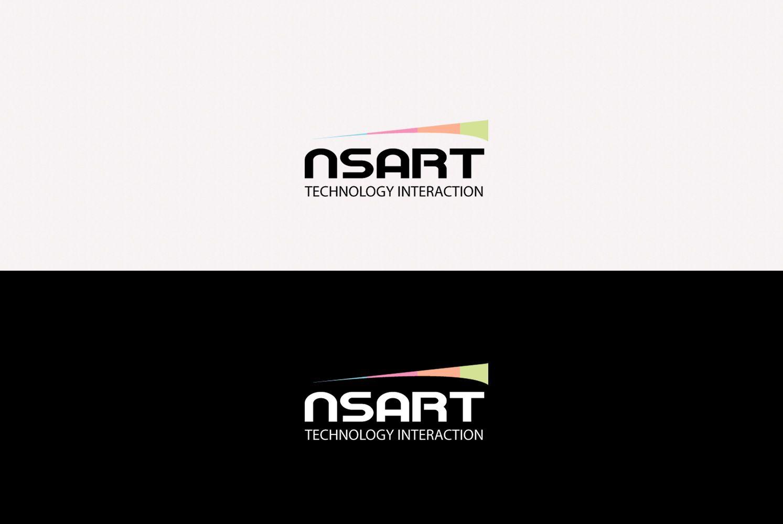 Логотип компании NSART - дизайнер SmolinDenis