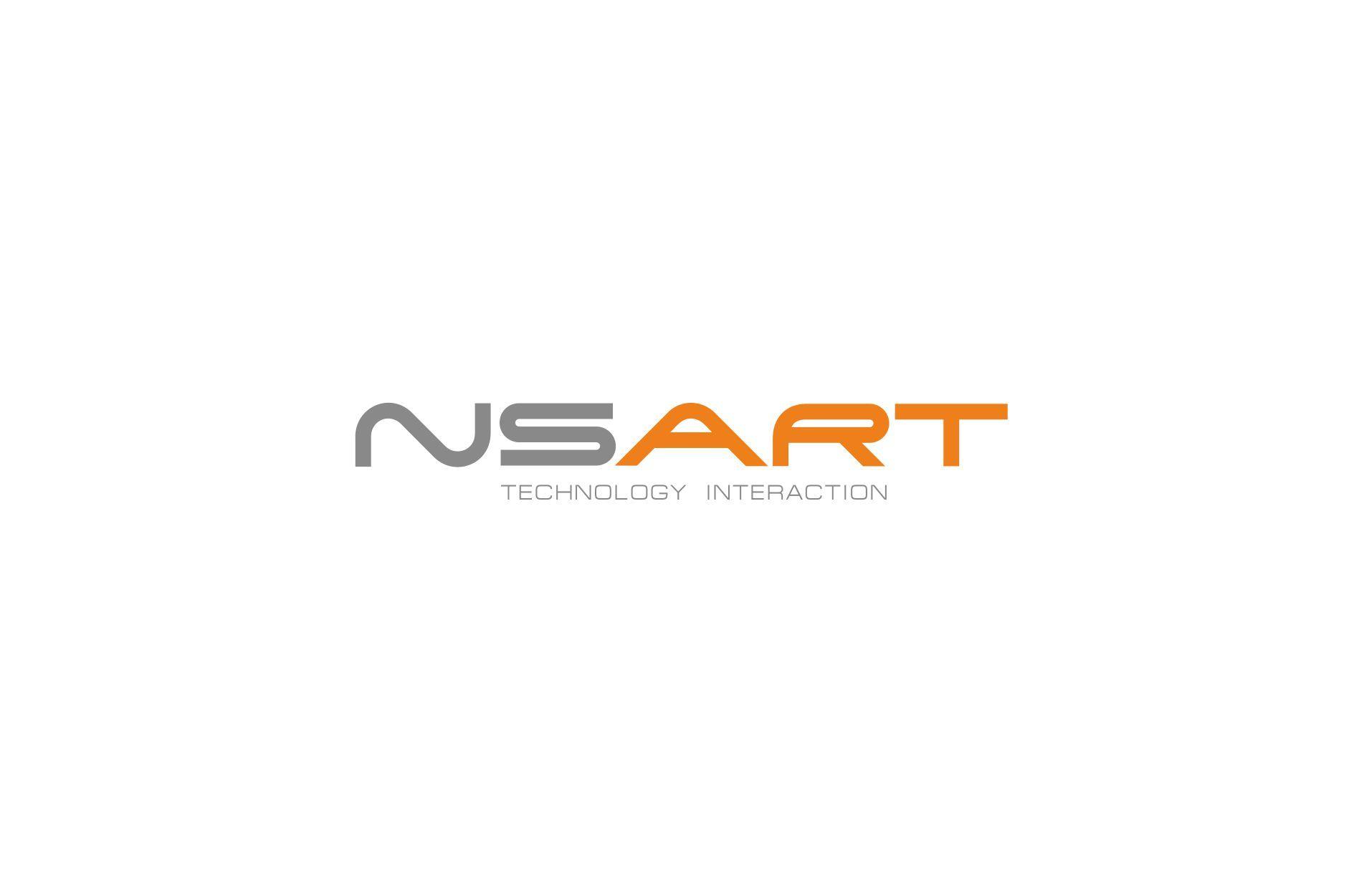 Логотип компании NSART - дизайнер GAMAIUN