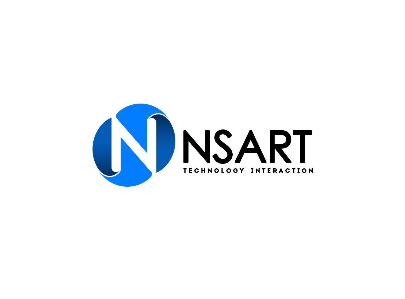 Логотип компании NSART - дизайнер webgrafika