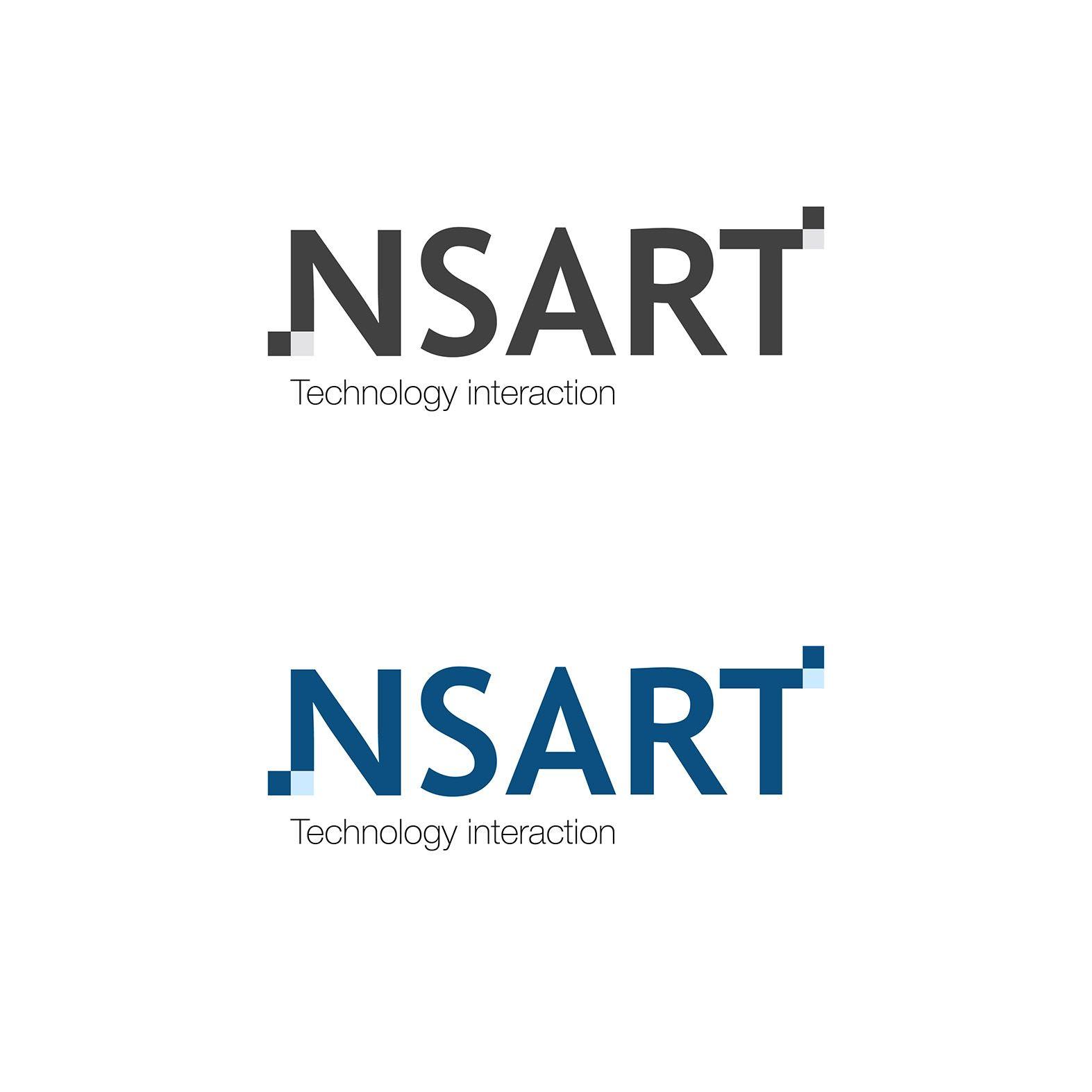 Логотип компании NSART - дизайнер talda