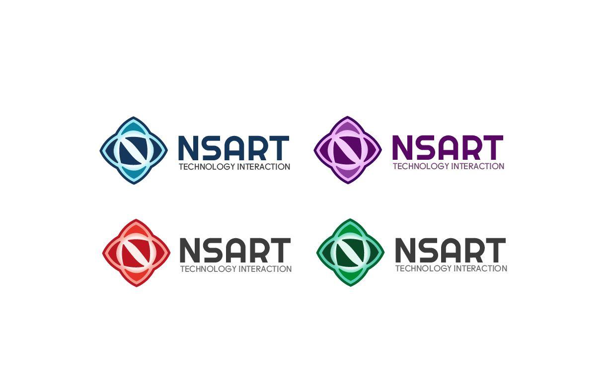 Логотип компании NSART - дизайнер V0va