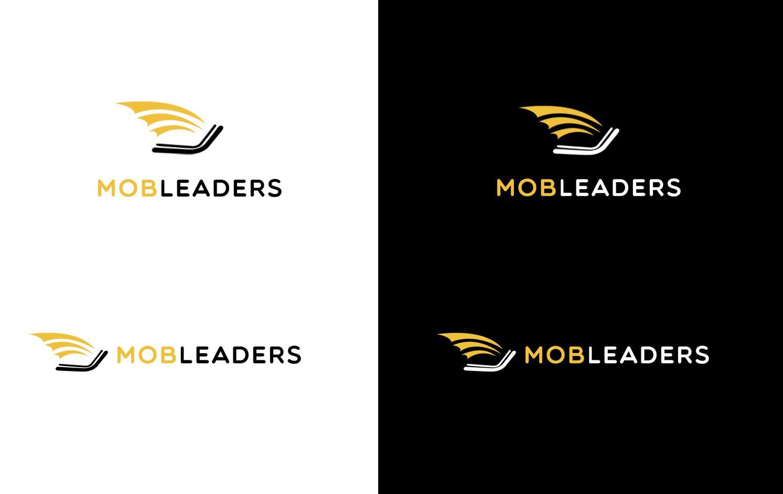 Логотип для агрегатора платежей MobLeaders.com - дизайнер SmolinDenis