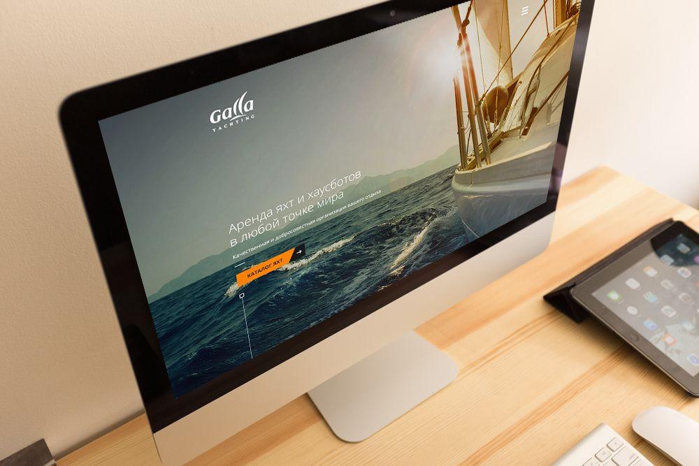 Веб-сайт для gallayachting.com - дизайнер Designer_09