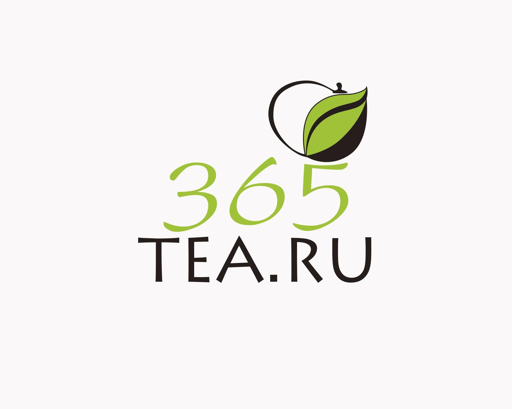 Логотип для 365tea.ru или 365TEA.RU - дизайнер makakashonok