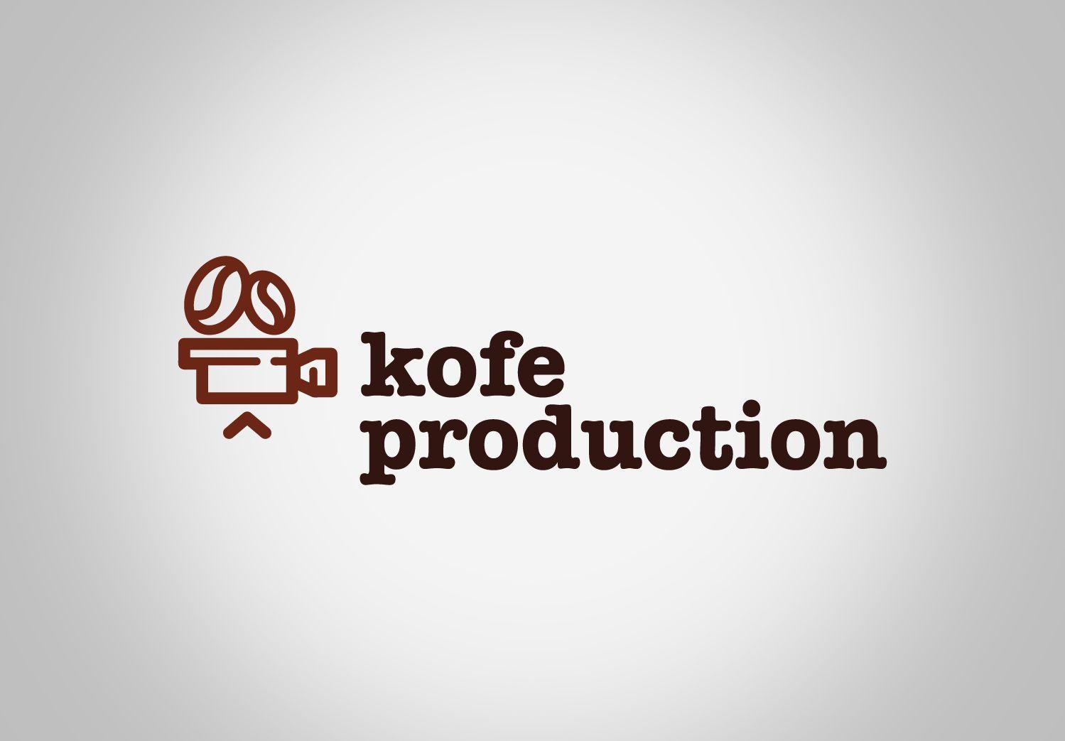 Логотип для видео продакшна (kofe.co) - дизайнер Geyzerrr