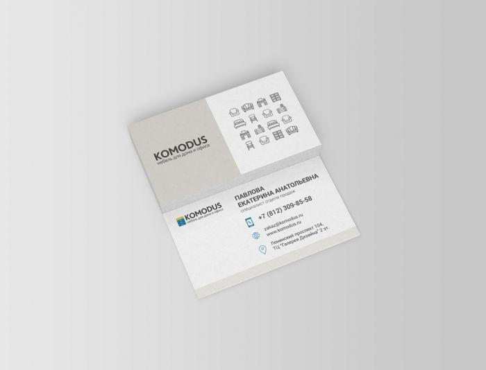 Создание макета визитной карточки - дизайнер Mei_Riko