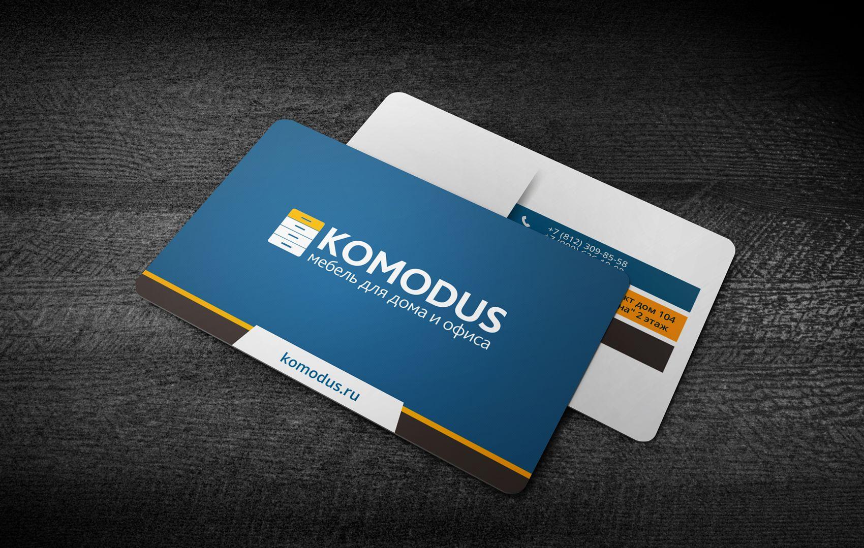 Создание макета визитной карточки - дизайнер Ninpo