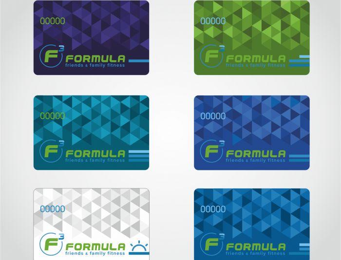 Дизайн клубных карт фитнес-центра - дизайнер Zero-2606