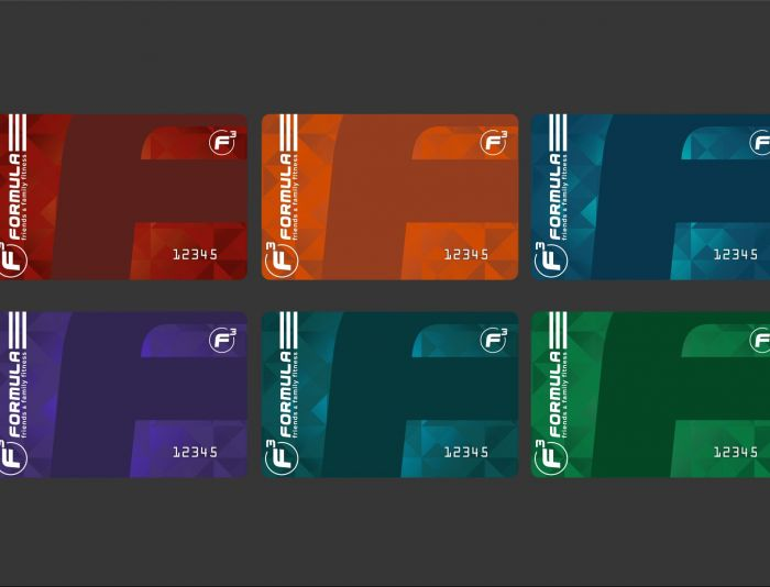 Дизайн клубных карт фитнес-центра - дизайнер yu78