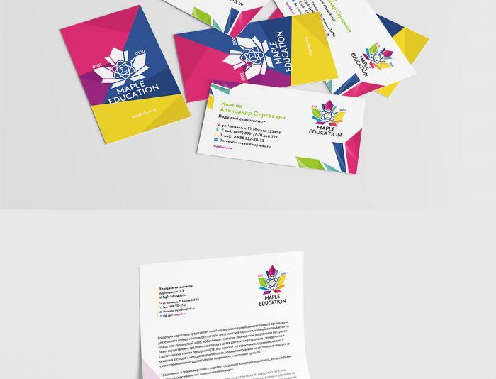 Лого и фирменный стиль для Mapledu , Maple Education - дизайнер BARS_PROD