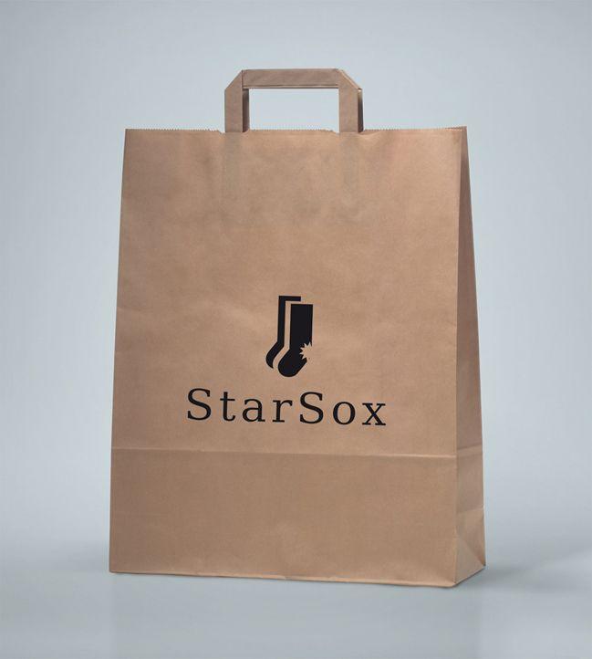 Лого и фирменный стиль для Starsox - дизайнер dizcool
