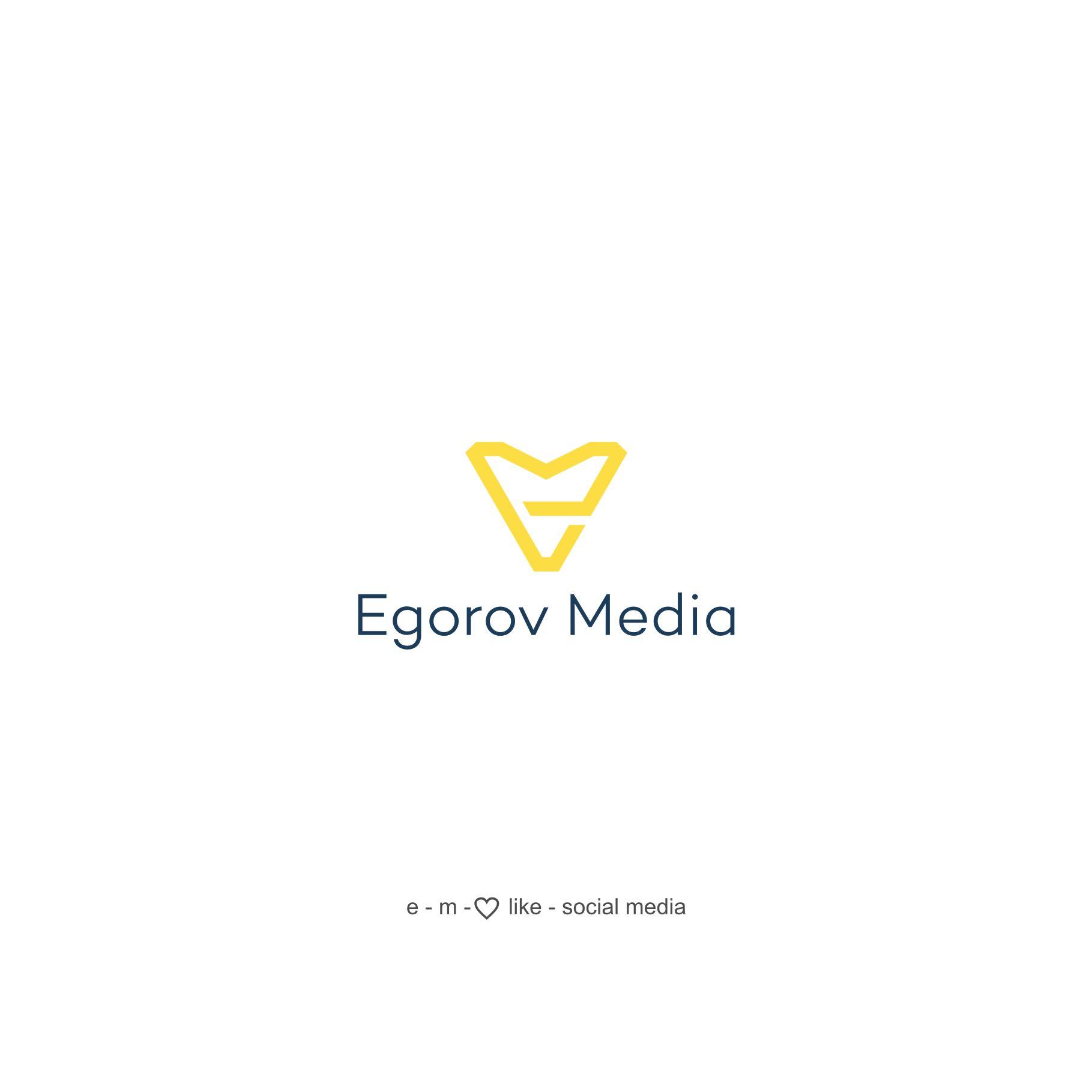 Логотип для Egorov Media - дизайнер zima
