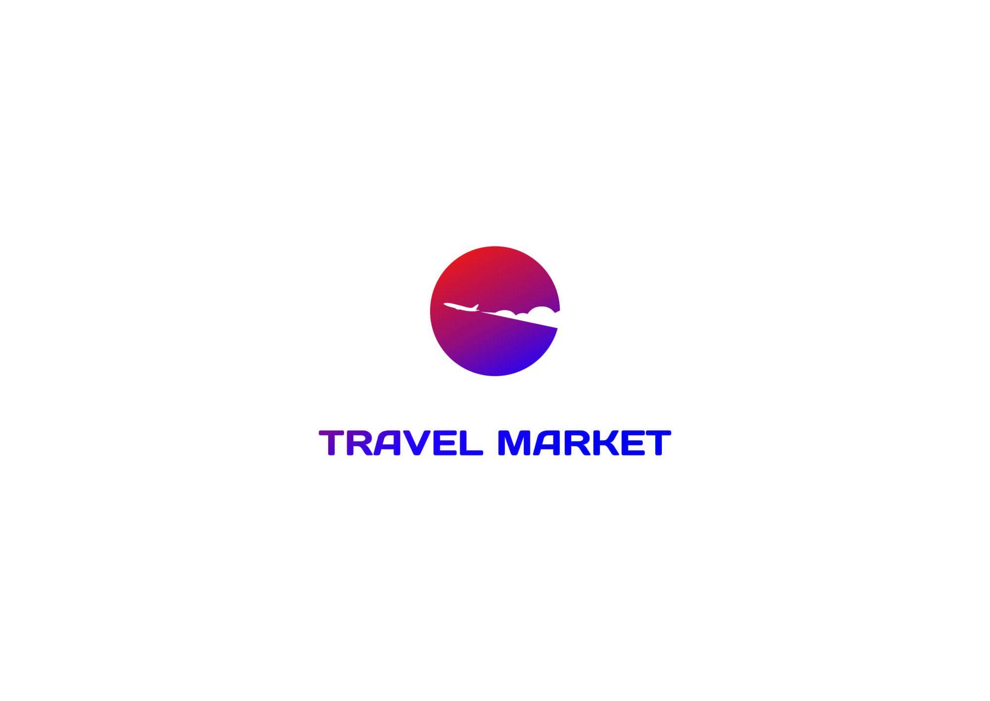 Лого и фирменный стиль для Турагентство Travel Market - дизайнер rinaleerl