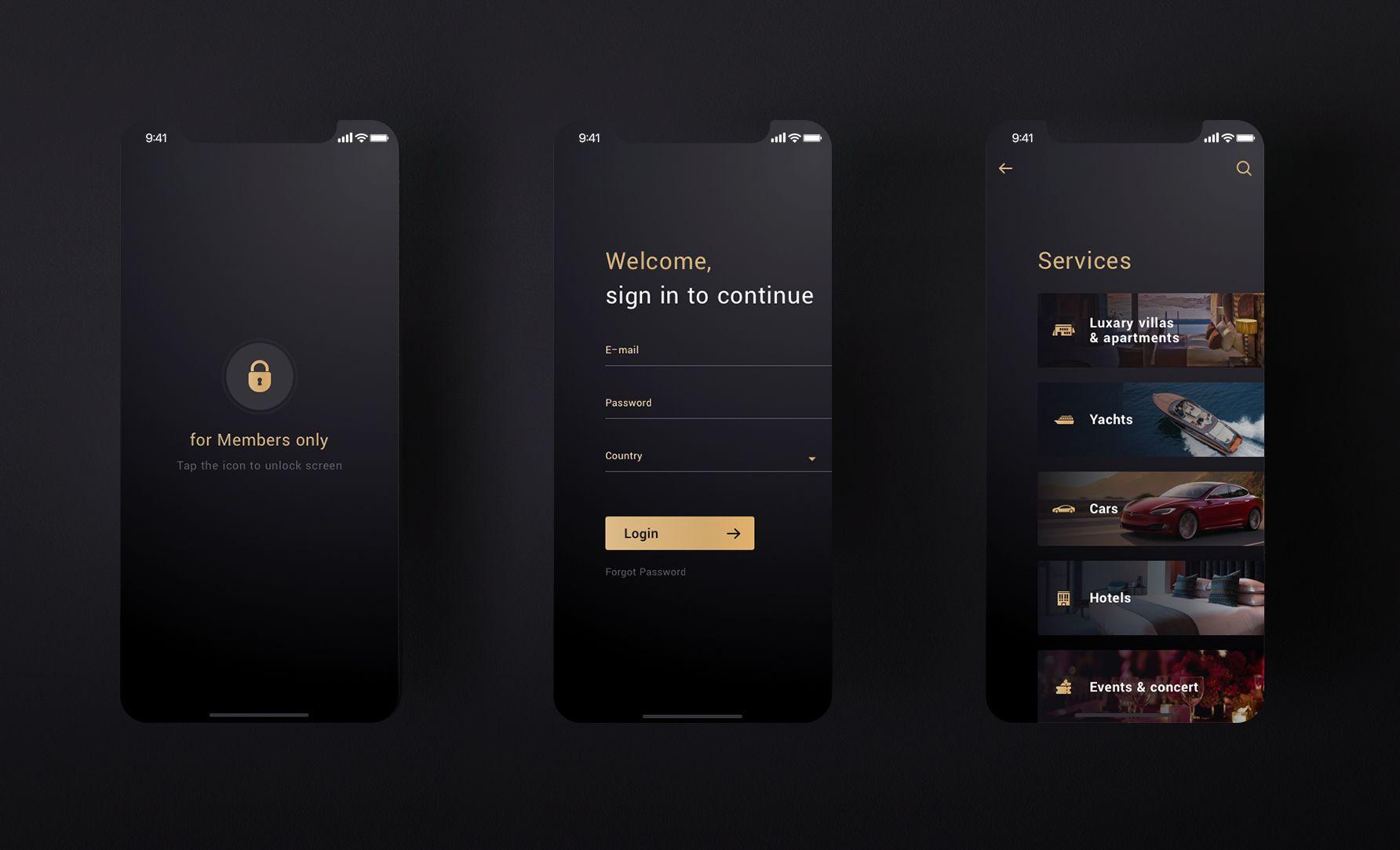 моб приложение консьерж - дизайнер Tanya_Mak_