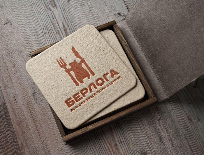 Логотип для Берлога / berloga space work &lounge - дизайнер andblin61