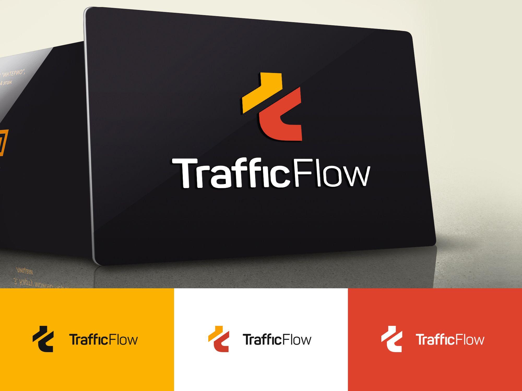 Лого и фирменный стиль для Traffic Flow - дизайнер webgrafika