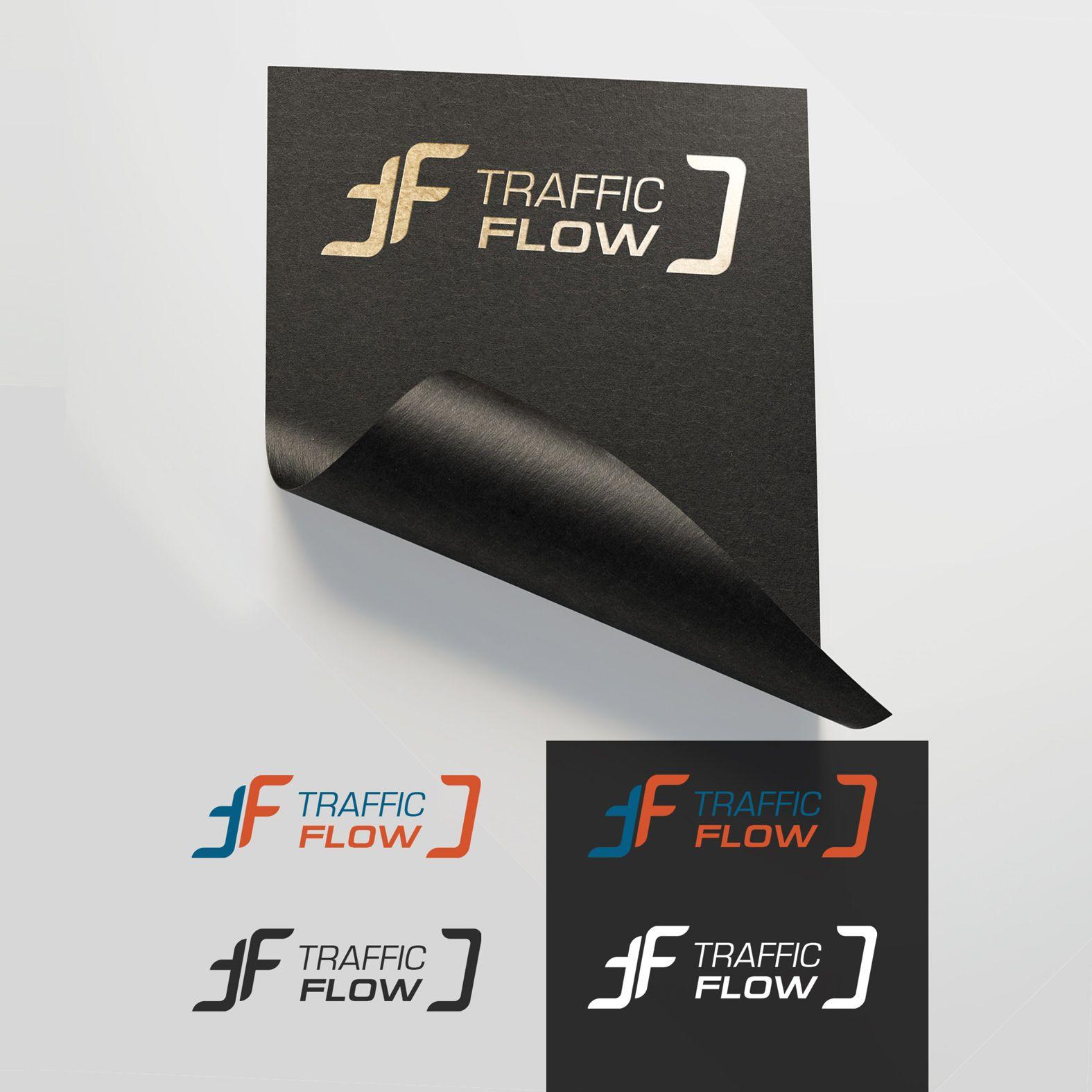 Лого и фирменный стиль для Traffic Flow - дизайнер ShuDen