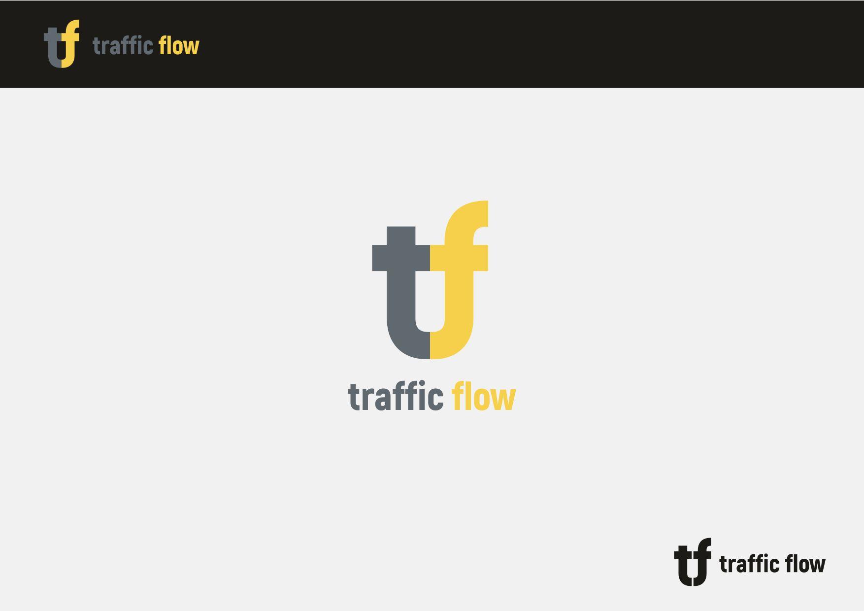 Лого и фирменный стиль для Traffic Flow - дизайнер VictorAnri