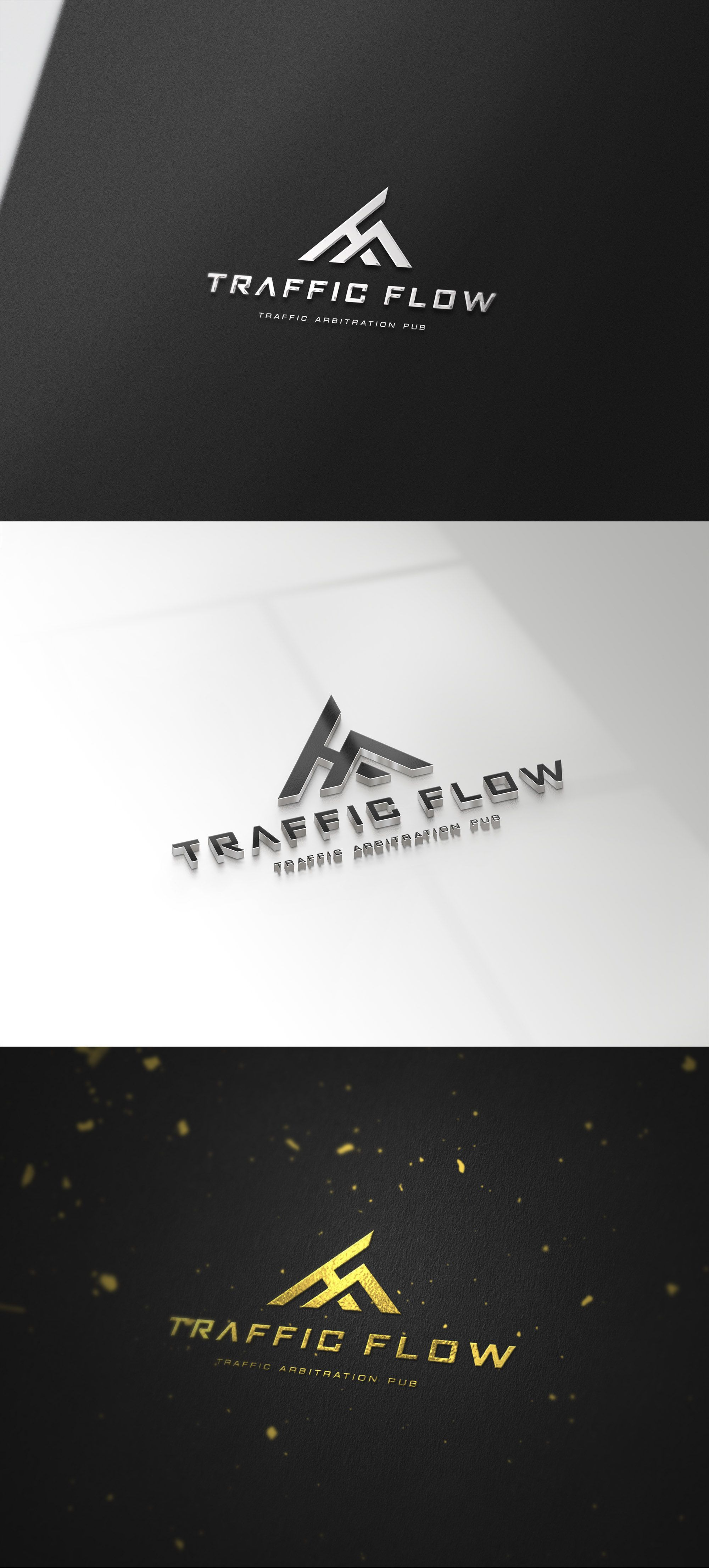 Лого и фирменный стиль для Traffic Flow - дизайнер seanmik