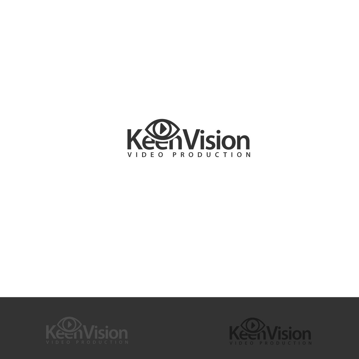 Логотип для KeenVision - дизайнер neyvmila