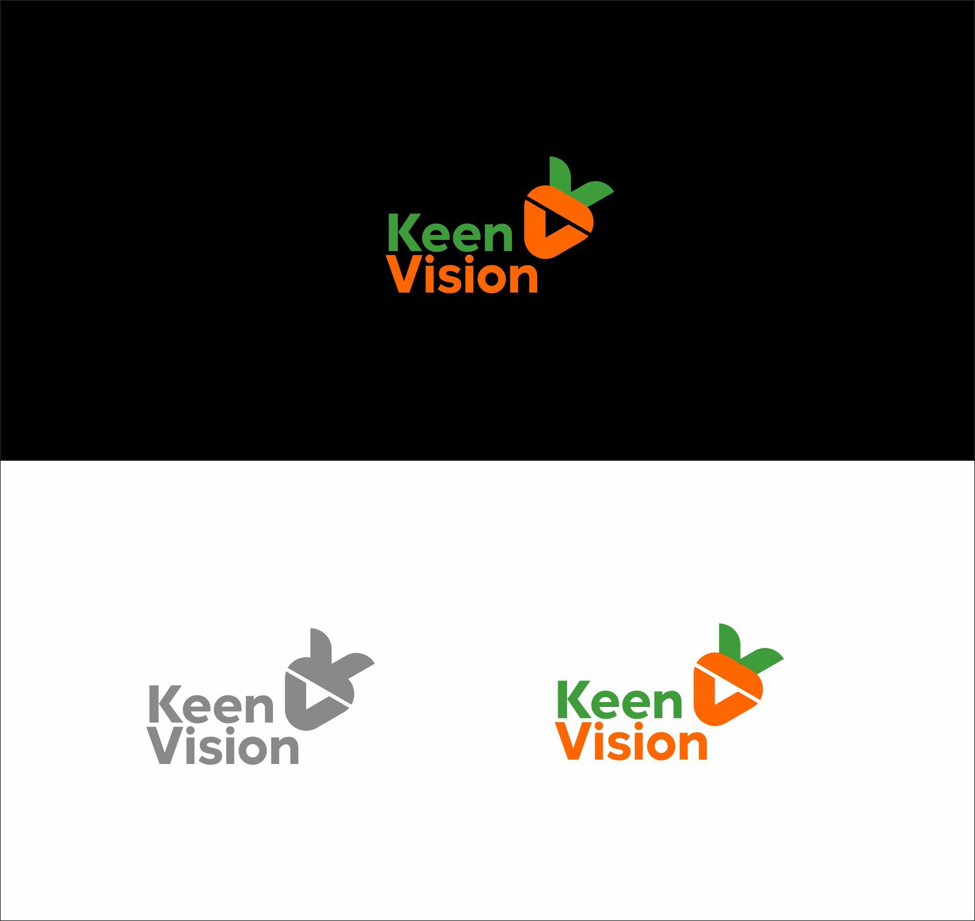 Логотип для KeenVision - дизайнер salik