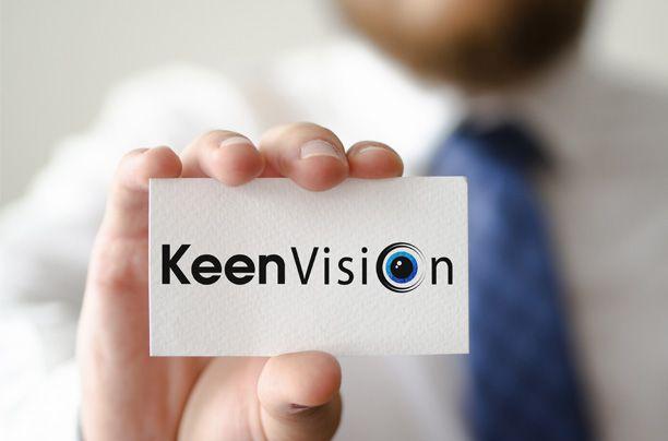 Логотип для KeenVision - дизайнер AnnaRepina
