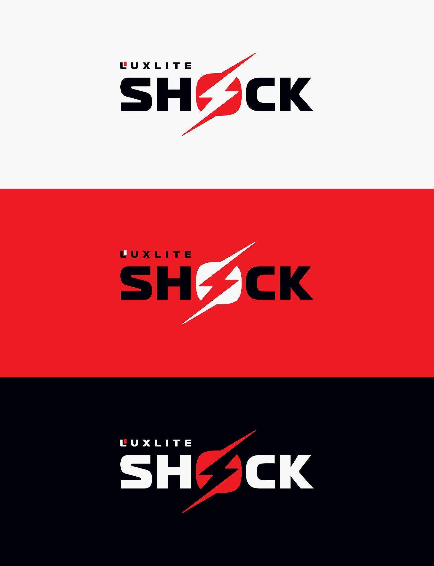 Логотип для батареек LUXLITE SHOCK - дизайнер AnZel