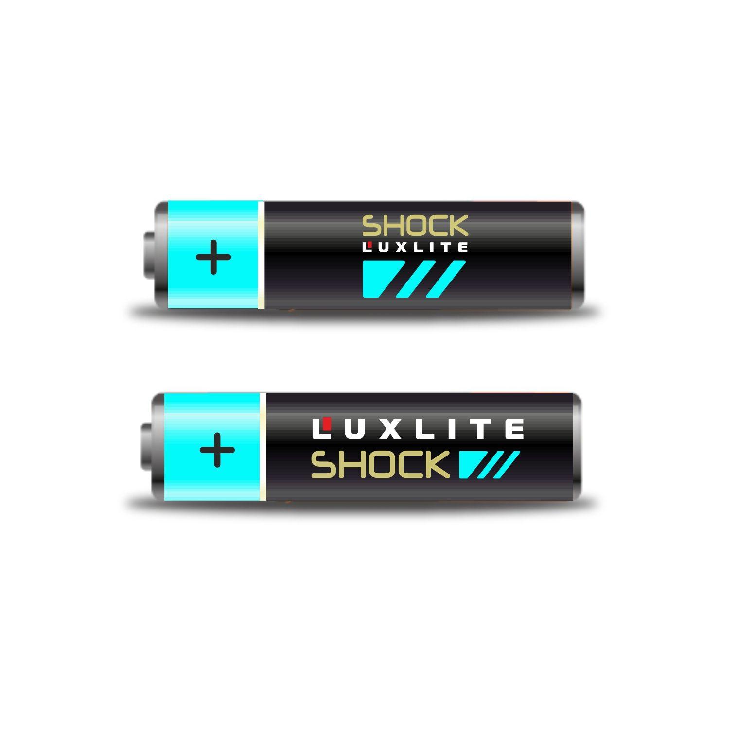 Логотип для батареек LUXLITE SHOCK - дизайнер natmis
