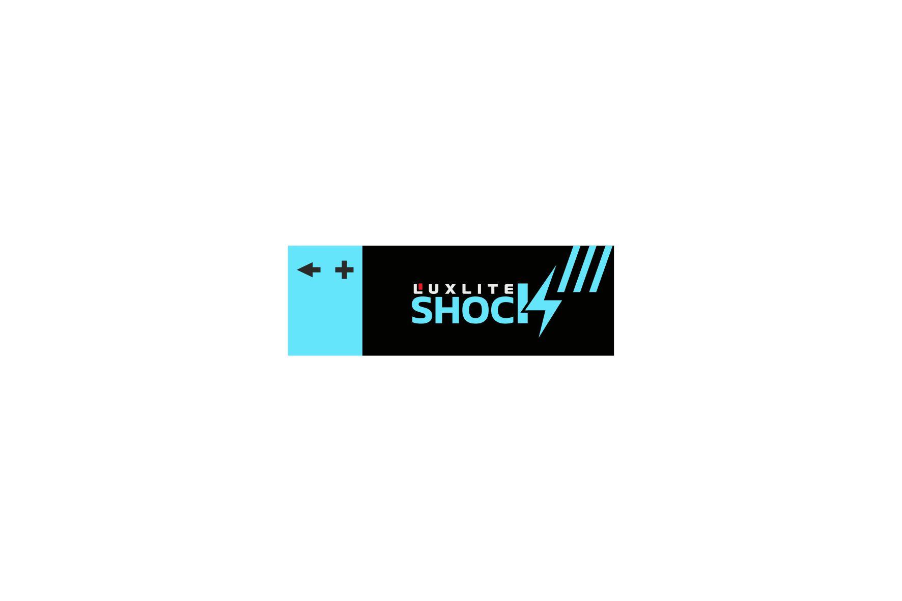 Логотип для батареек LUXLITE SHOCK - дизайнер erkin84m