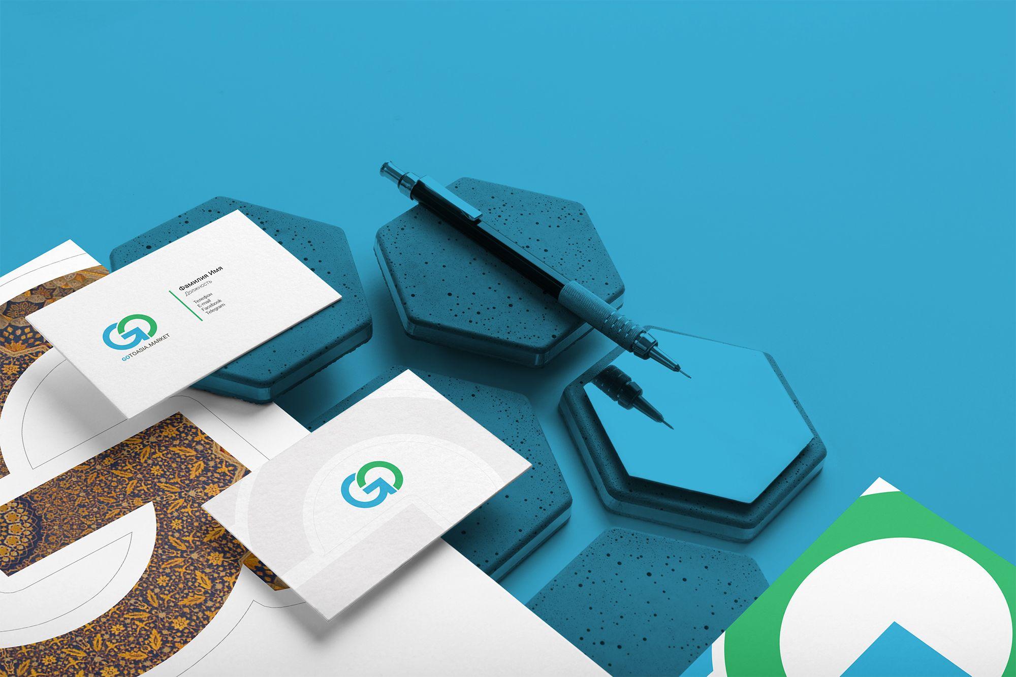 Фирменный стиль на основе логотипа GoToAsia.Market - дизайнер khamrajan