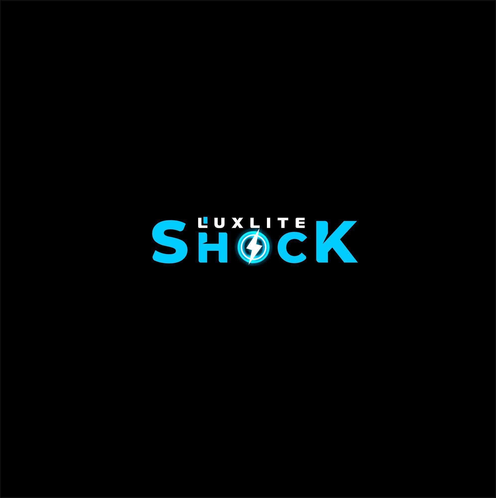 Логотип для батареек LUXLITE SHOCK - дизайнер salik