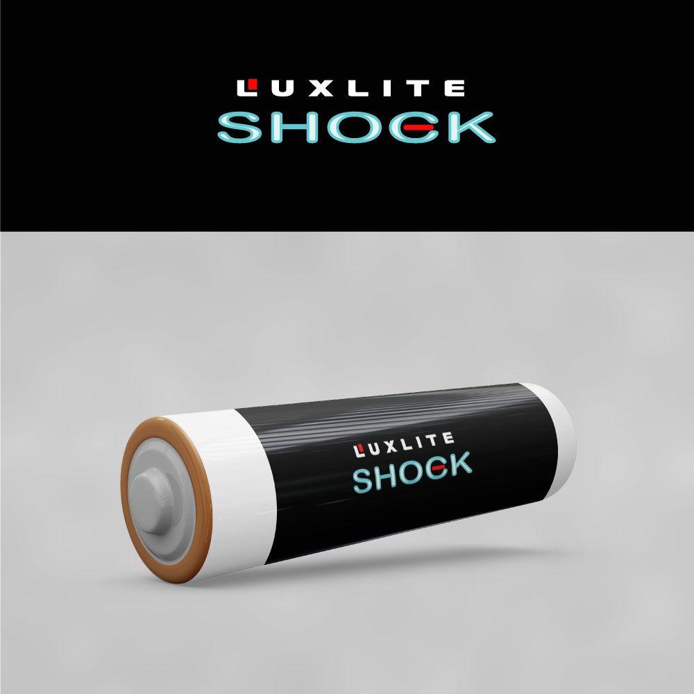 Логотип для батареек LUXLITE SHOCK - дизайнер Nozim28