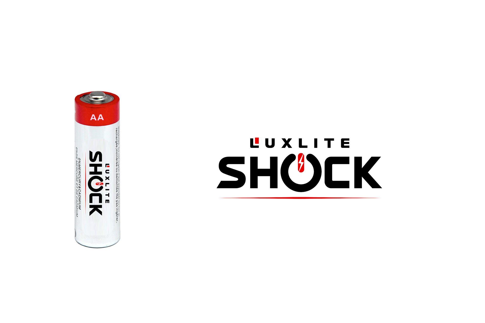 Логотип для батареек LUXLITE SHOCK - дизайнер JMarcus