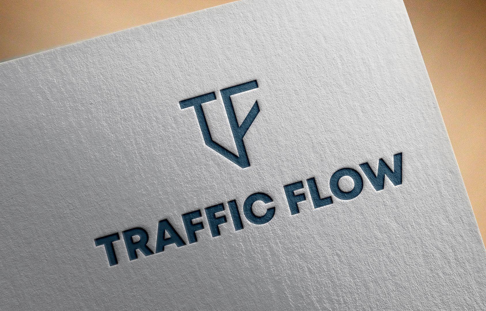 Лого и фирменный стиль для Traffic Flow - дизайнер novikogocsha18