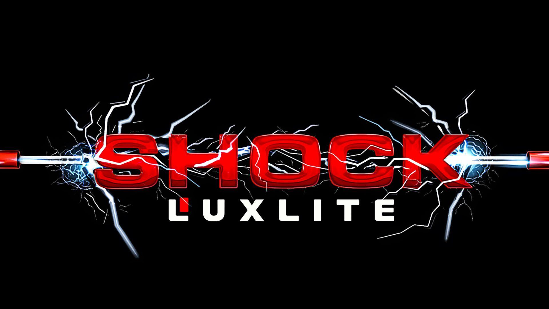 Логотип для батареек LUXLITE SHOCK - дизайнер gromiastorm