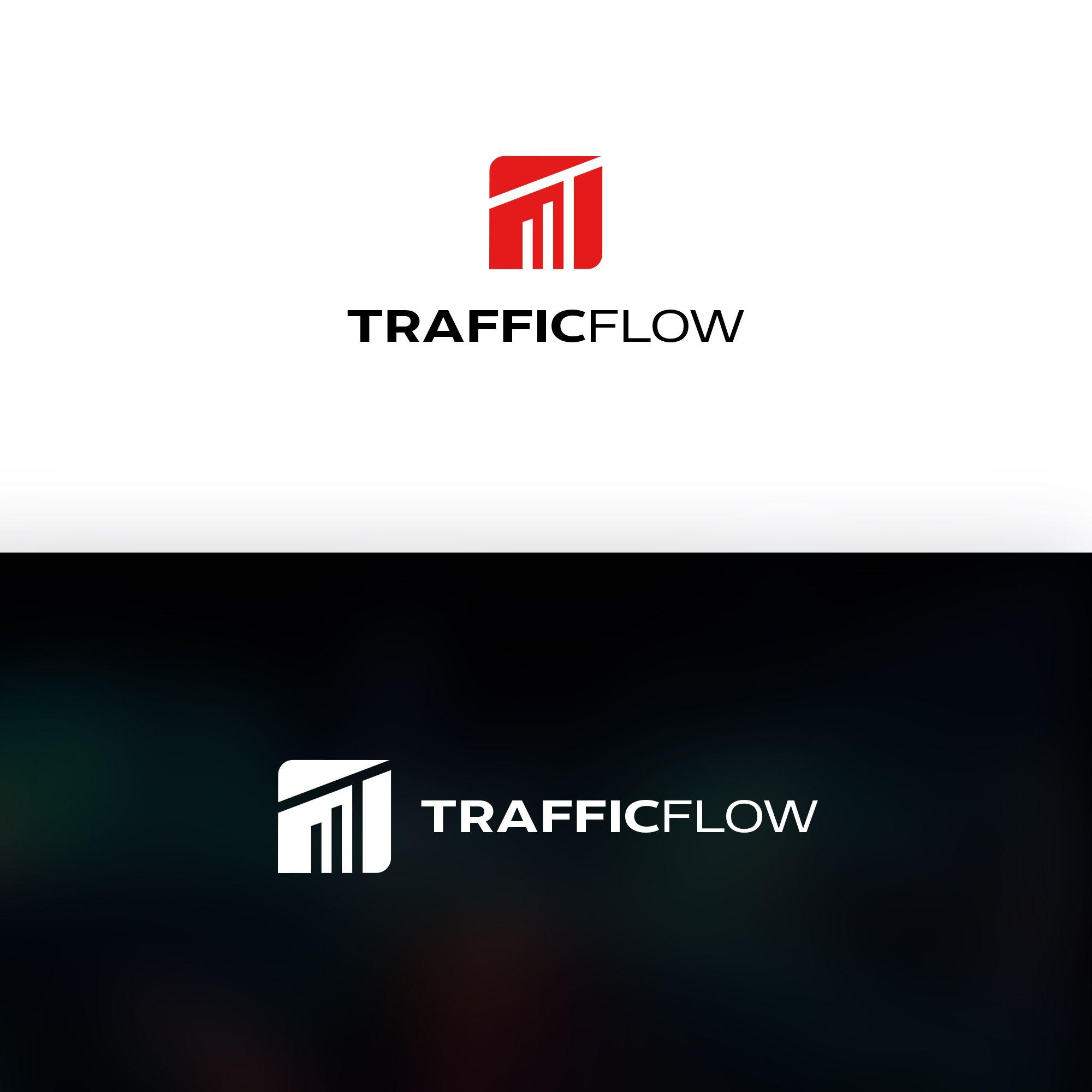 Лого и фирменный стиль для Traffic Flow - дизайнер weste32