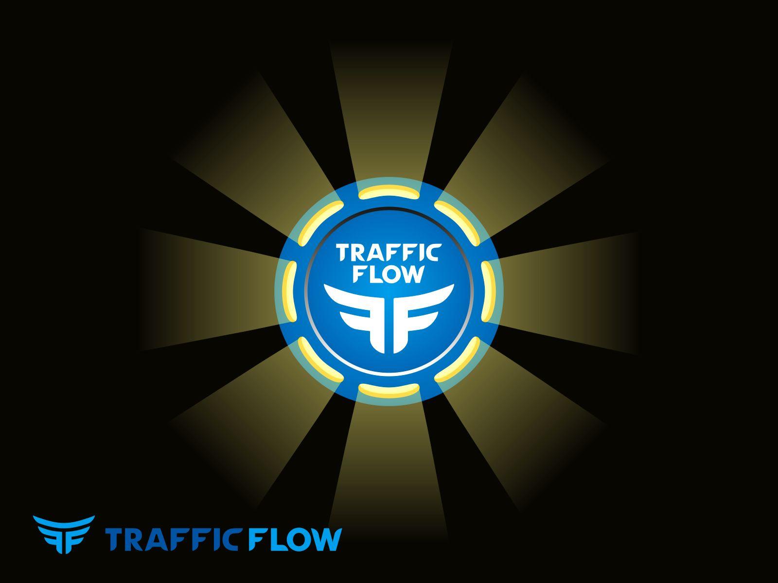 Лого и фирменный стиль для Traffic Flow - дизайнер -N-