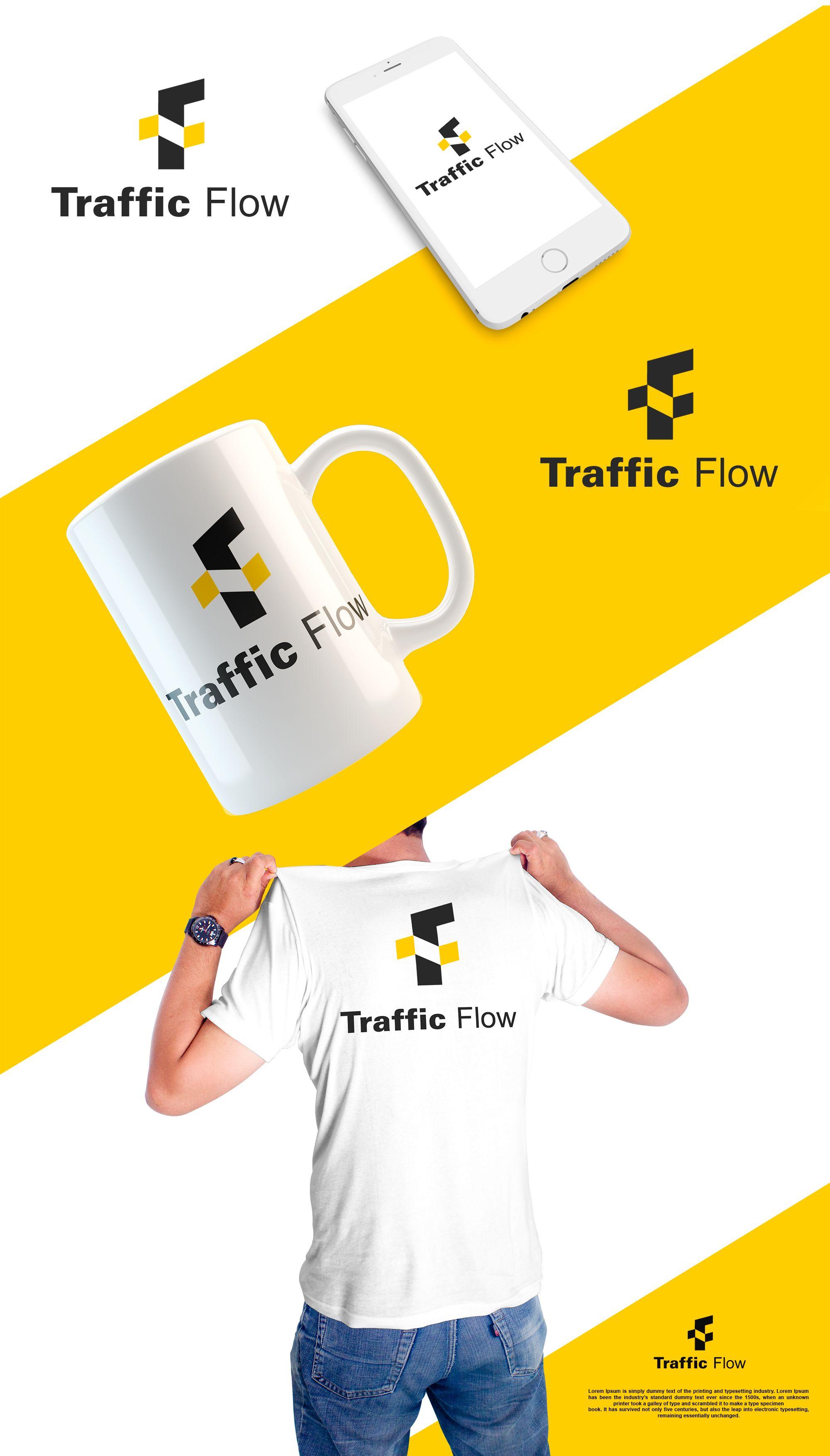 Лого и фирменный стиль для Traffic Flow - дизайнер Splayd