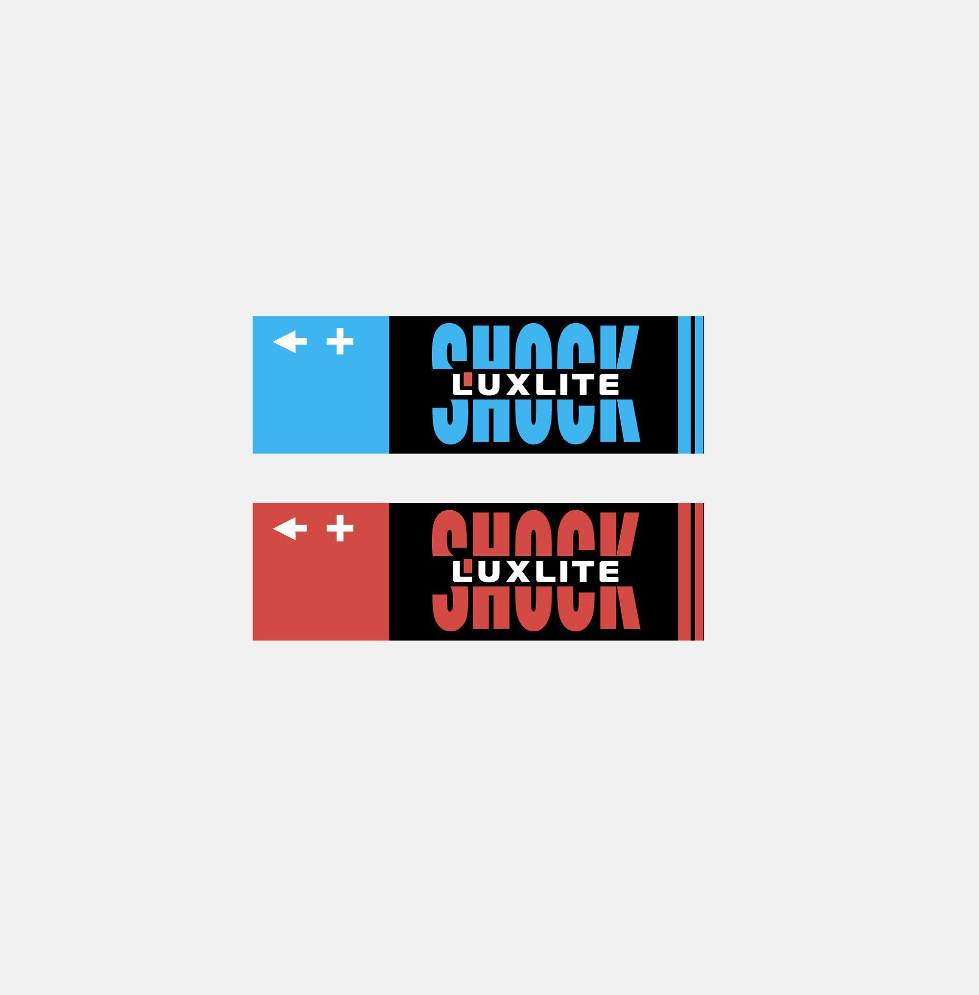 Логотип для батареек LUXLITE SHOCK - дизайнер Le_onik