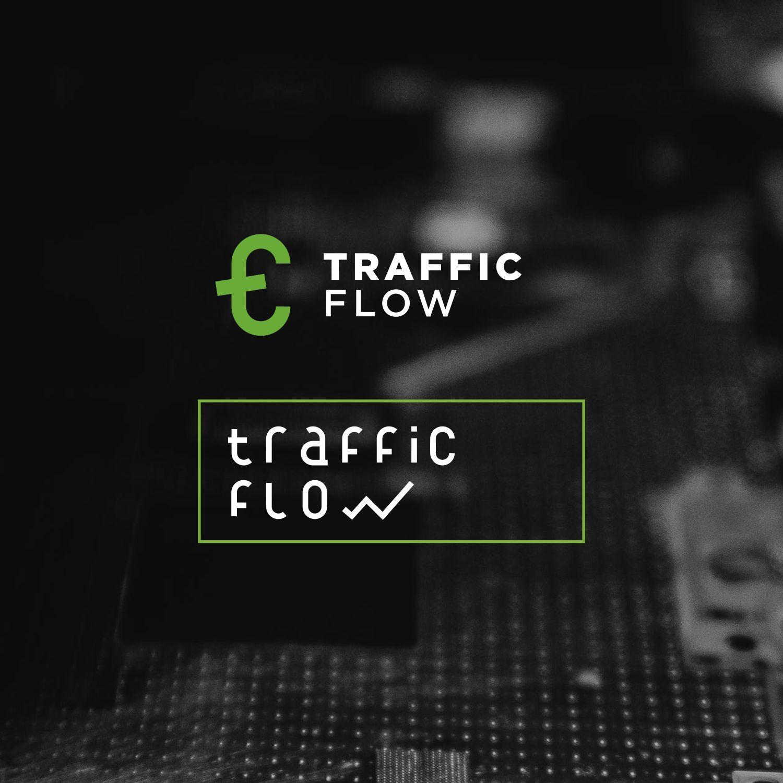 Лого и фирменный стиль для Traffic Flow - дизайнер Charlie