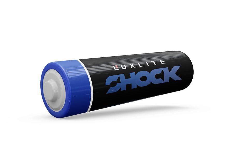 Логотип для батареек LUXLITE SHOCK - дизайнер luckylim