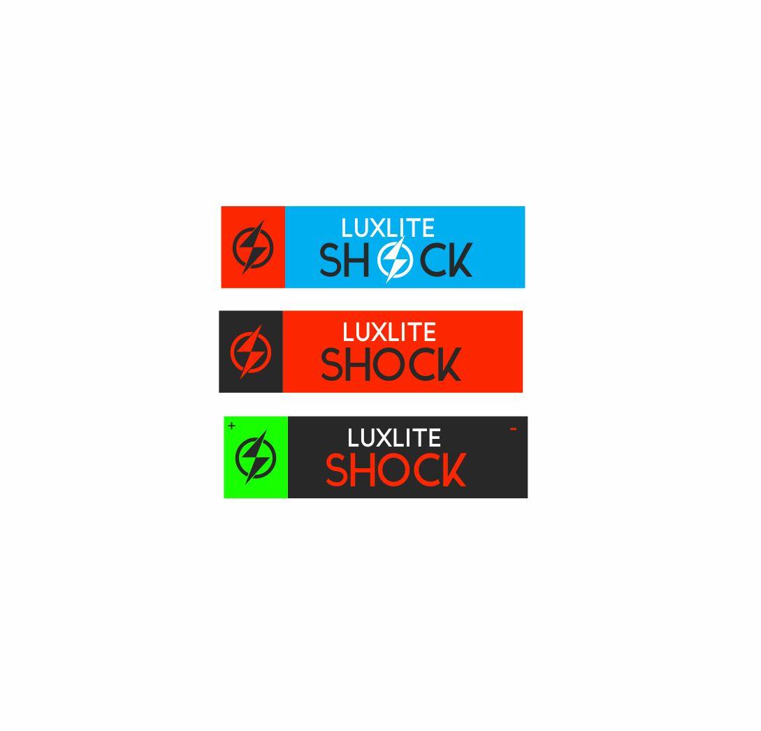 Логотип для батареек LUXLITE SHOCK - дизайнер sv58