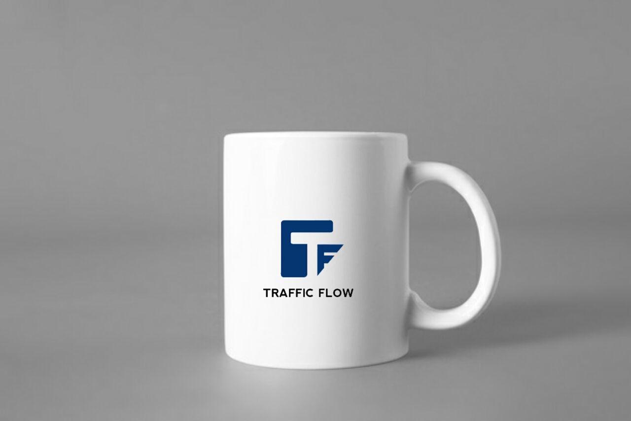 Лого и фирменный стиль для Traffic Flow - дизайнер Foxiha