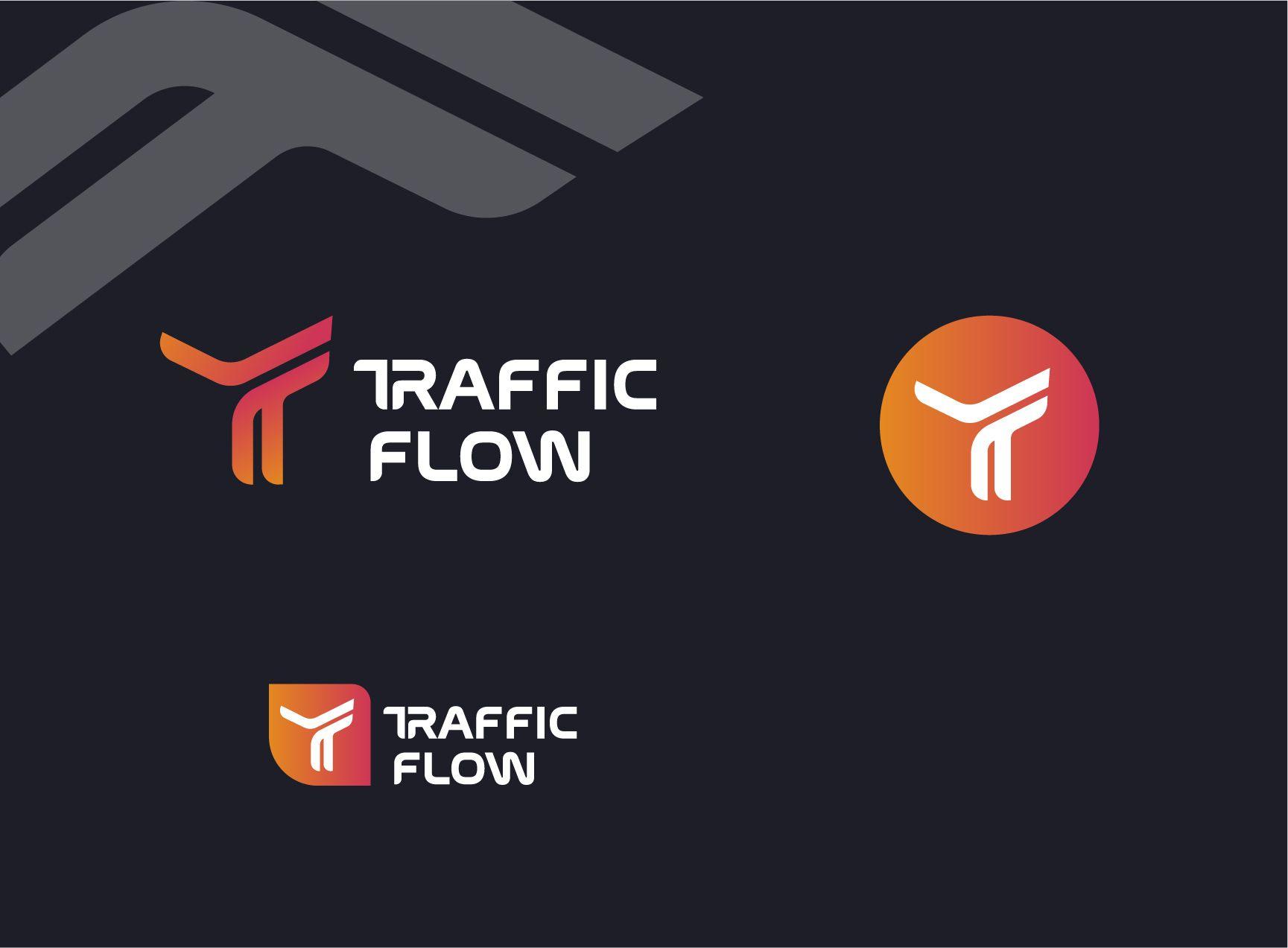 Лого и фирменный стиль для Traffic Flow - дизайнер Iceface