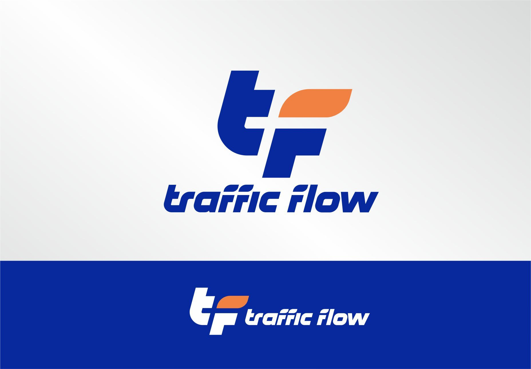 Лого и фирменный стиль для Traffic Flow - дизайнер PAPANIN