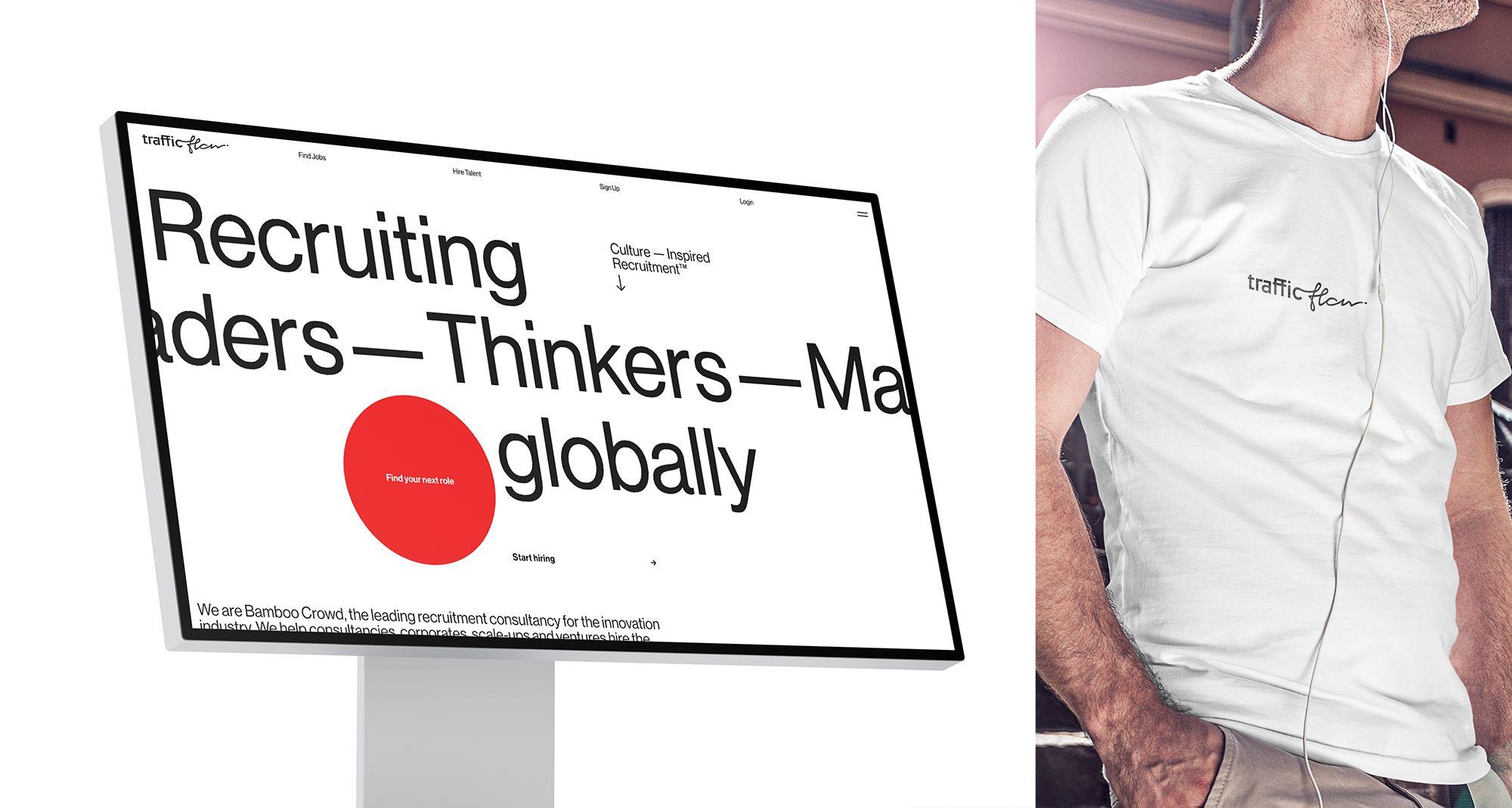 Лого и фирменный стиль для Traffic Flow - дизайнер Nominis