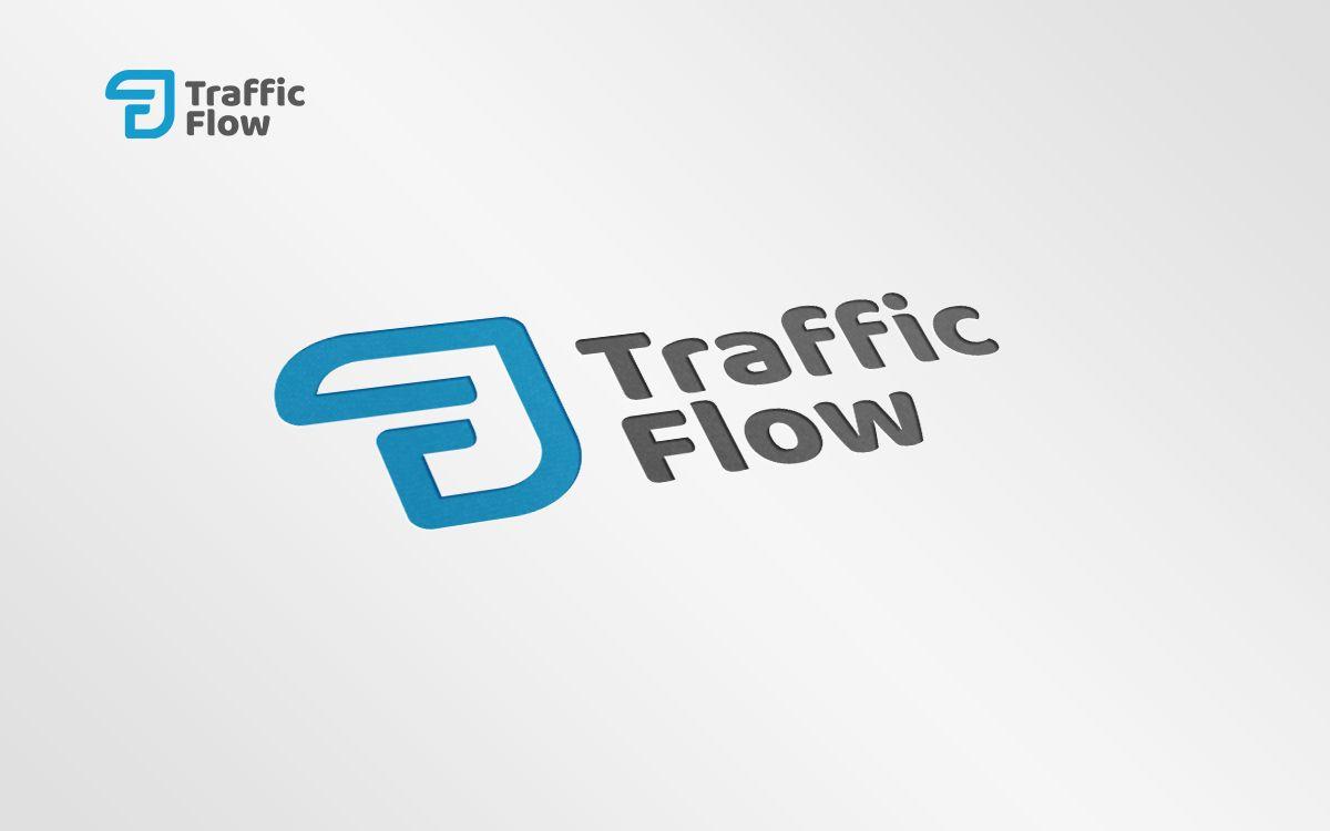 Лого и фирменный стиль для Traffic Flow - дизайнер ideymnogo