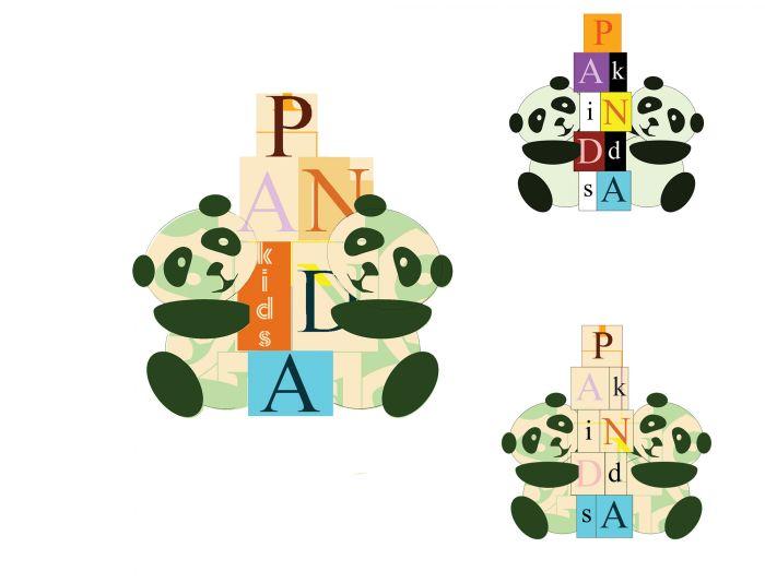 Логотип для Panda Kids - дизайнер felsendra