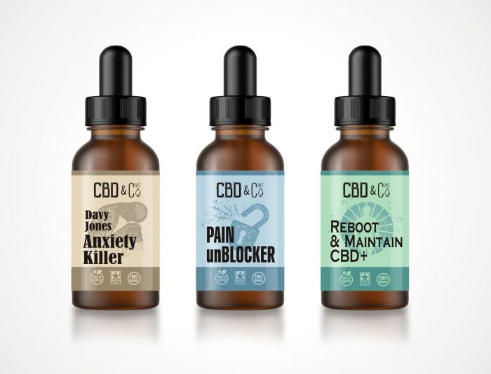 Label для бутылочек, упаковок и тд - дизайнер Zheravin